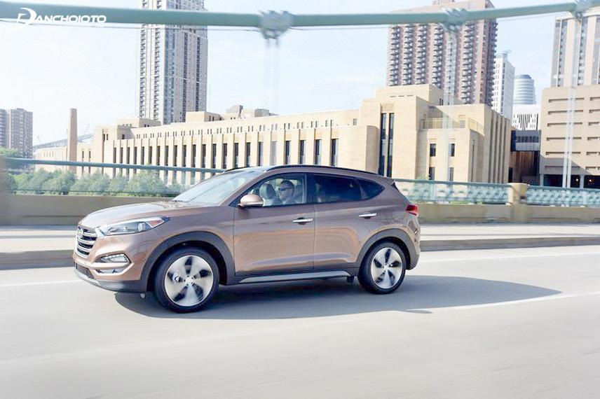 Hyundai Tucson là một lựa chọn đáng cân nhắc cho những gia đình trẻ