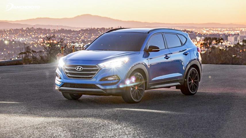 Hyundai Tucson sở hữu ngoại hình trẻ trung hấp dẫn từ cái nhìn đầu tiên