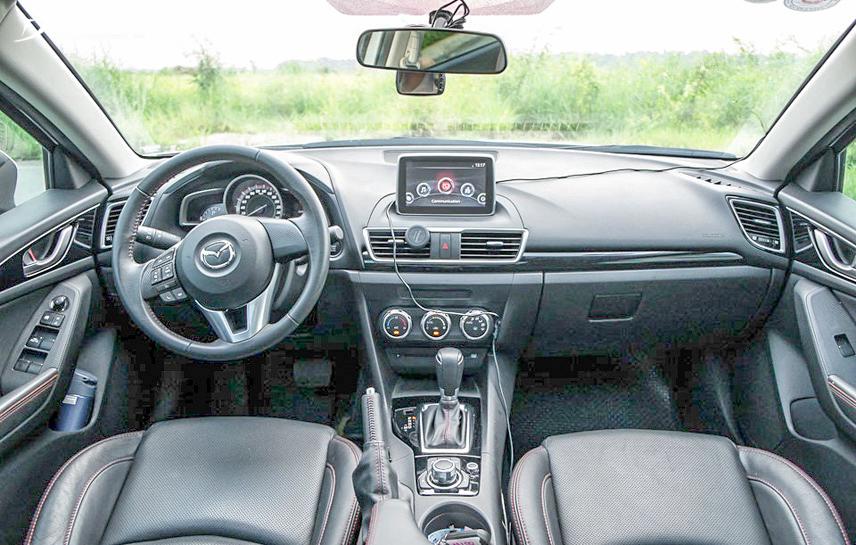 Mazda 6 2016 với không gian nội thất đẹp và nhiều tiện nghi