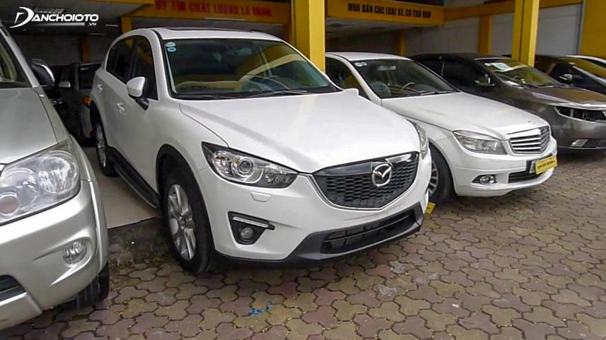 Mazda CX-5 2016 với nhiều tính năng an toàn
