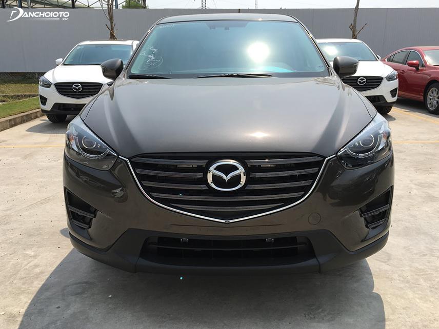Mazda CX-5 2017 khá tiết kiệm nhiên liệu