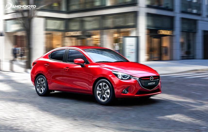 Mazda 2 sở hữu thế mạnh về động cơ của xe Nhật