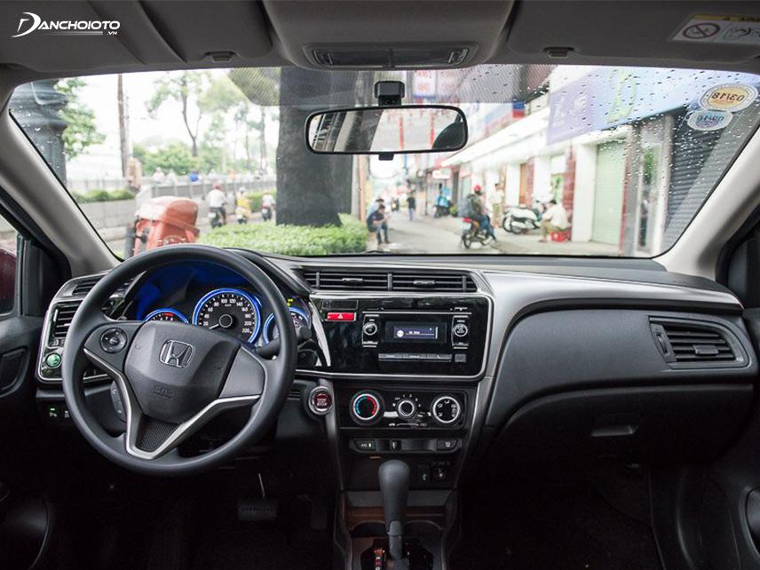 Nội thất Honda City 2016 khá hiện đại và bắt mắt