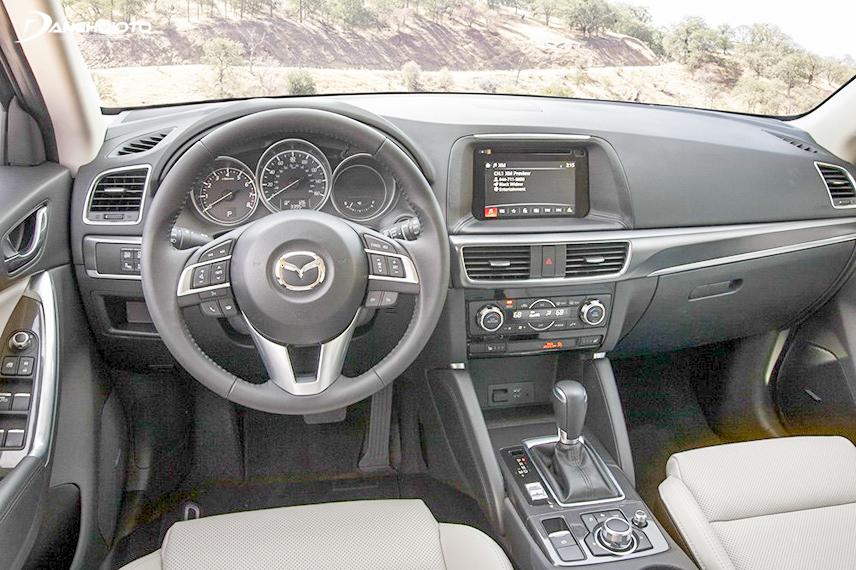 Nội thất của Mazda CX-5 2016 được đầu tư bài bản
