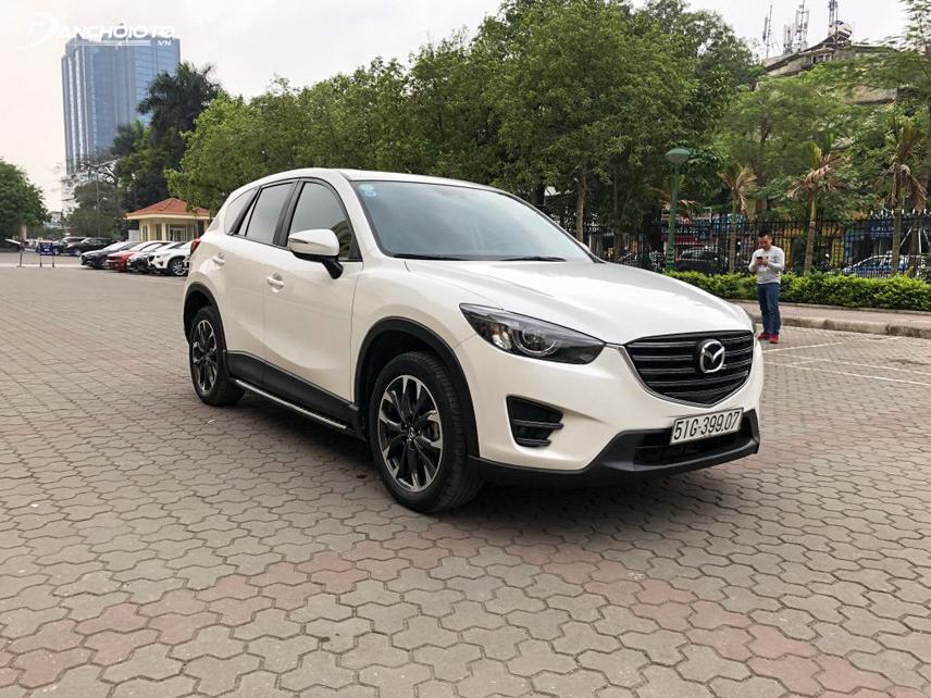 Thiết kế của Mazda CX-5 2016 mang phong cách trẻ trung hiện đại