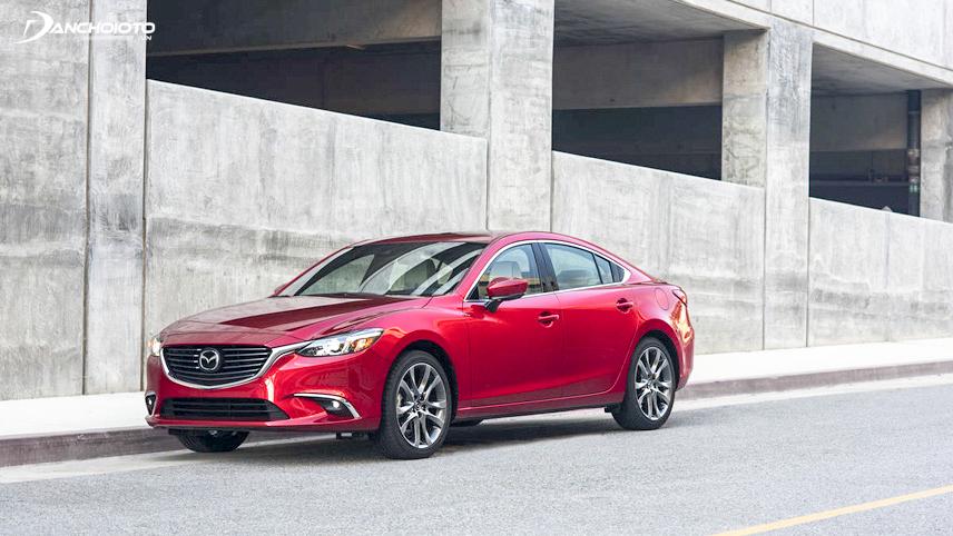 Thiết kế xe Mazda 6 2017
