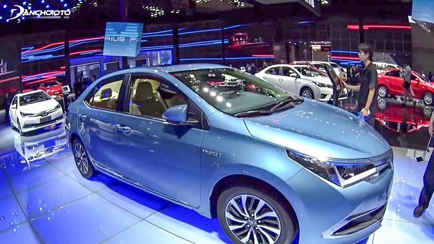 Toyota Altis 2018 được thiết kế với phong cách ấn tượng