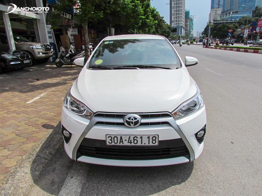 Toyota Yaris 2016 thiết kế rất bền dáng