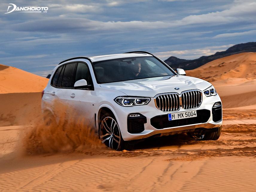 Với 4 phiên bản động cơ, BMW X5 2019 thể hiện sự mạnh mẽ tăng tốc cực kỳ hiệu quả