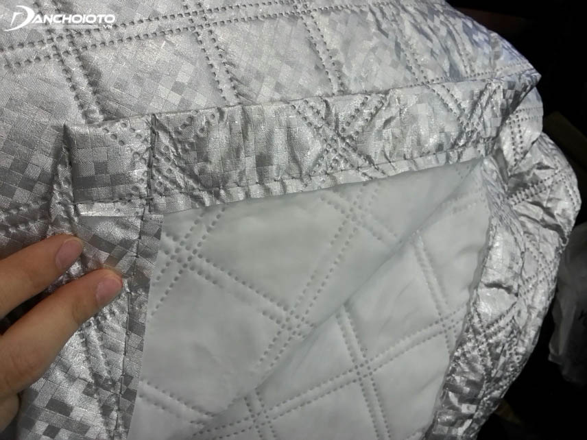 Heat resistant tarpaulin is composed of many layers