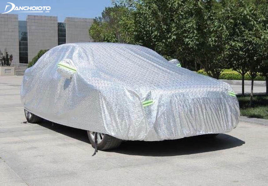 Car heat resistant tarpaulins are made from custom heat protection material