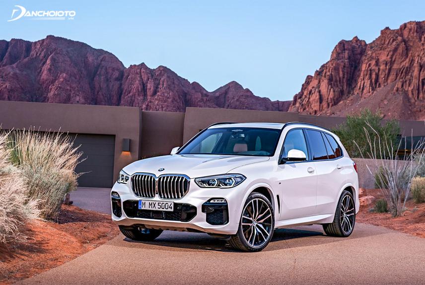BMW X5 2019 tích hợp nhiều chức năng thông minh