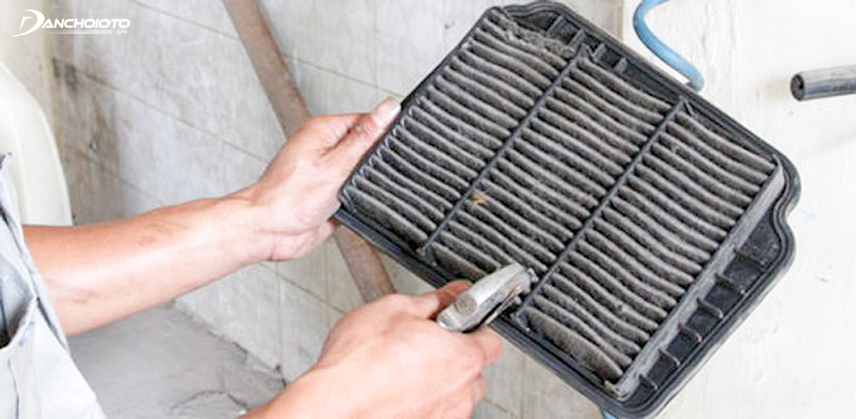 Dust on the inside can affect the air conditioner