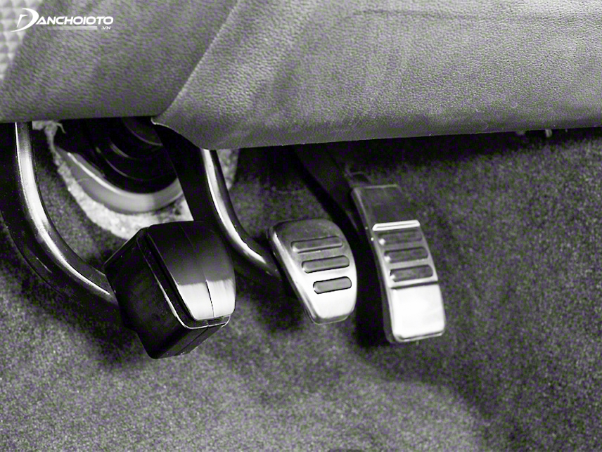 The clutch pedal is very important in driving the car
