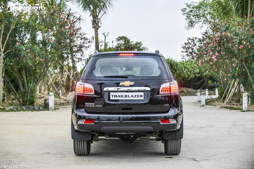 Chevrolet Trailblazer tích hợp ba biến thể động cơ tùy chọn