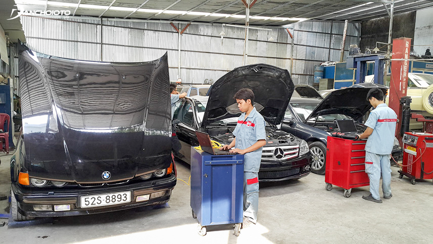 Car owners should choose a reputable maintenance center