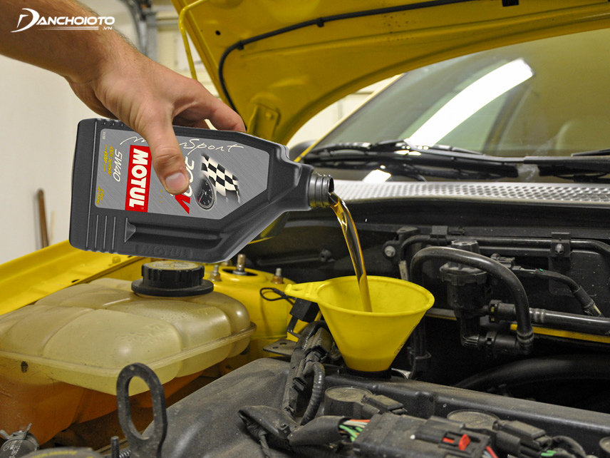 Engine oil plays a very important role in cars