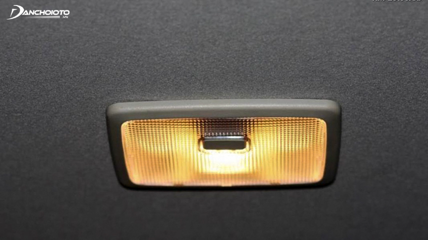 Car ceiling light is also a detail you need to check at a 5,000km service