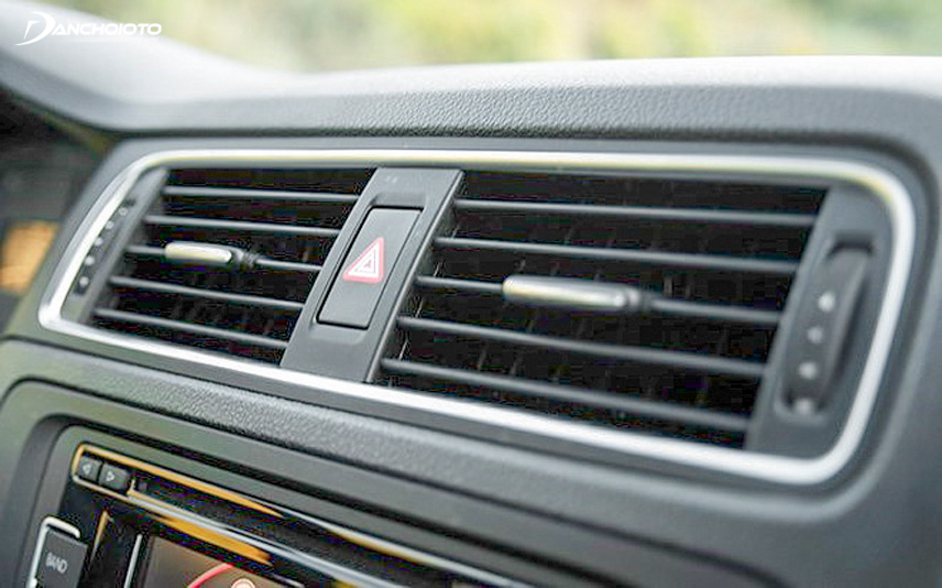 Excess gas can prevent the air conditioner from working