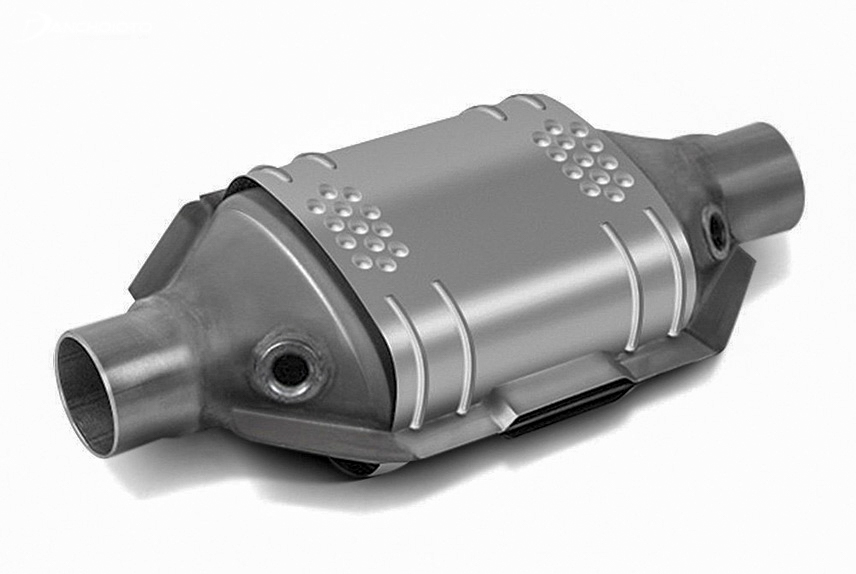Exhaust gas conversion system