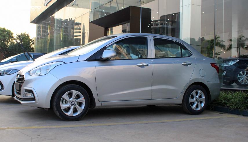 Hyundai i10 sedan có kiểu dáng sang trọng, thanh lịch hơn