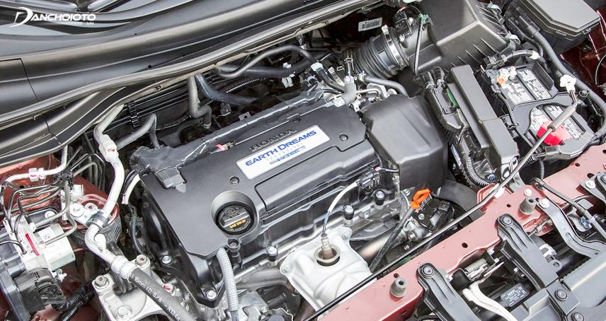 Khoang máy xe CR-V-2017