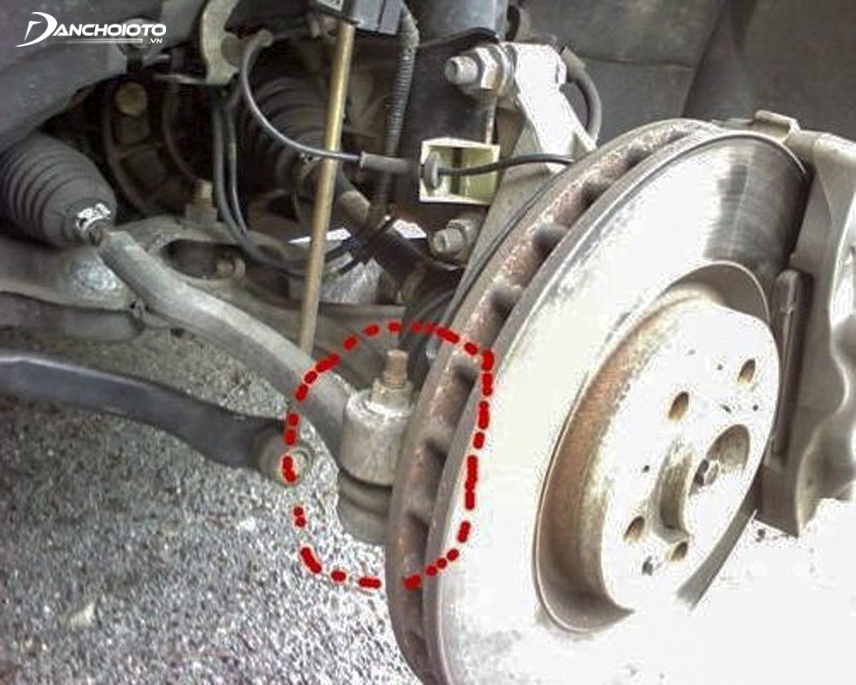 Axial deviation will cause the steering wheel to be skewed
