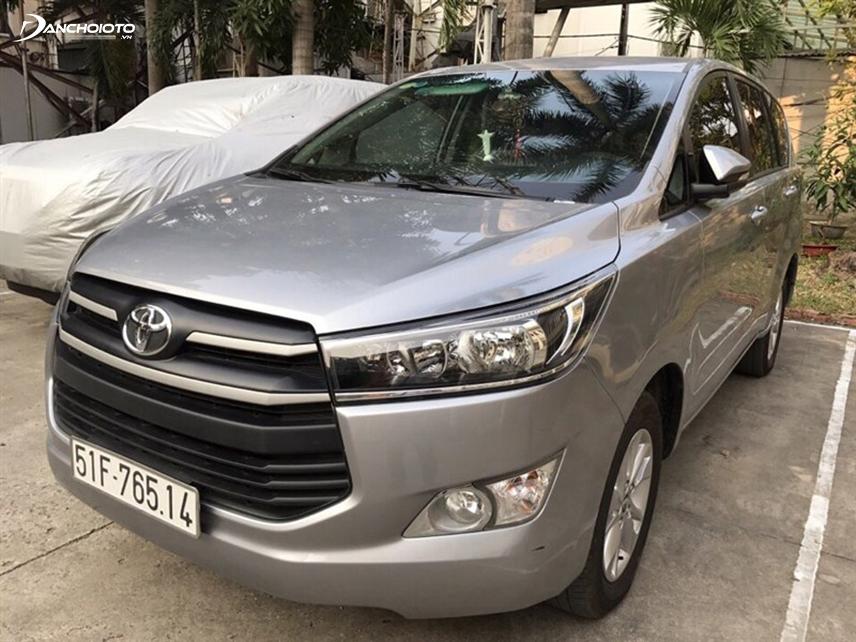 Mẫu xe Innova 2016 khá được ưa chuộng tại Việt Nam