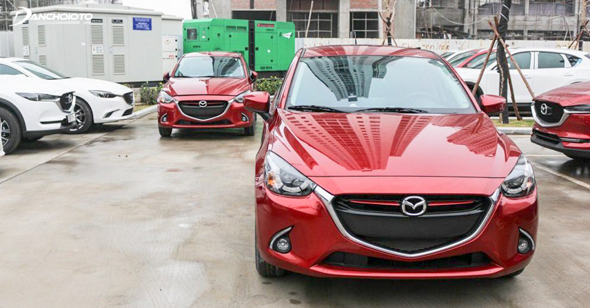 Ngoại thất vô cùng bắt mắt của Mazda 2