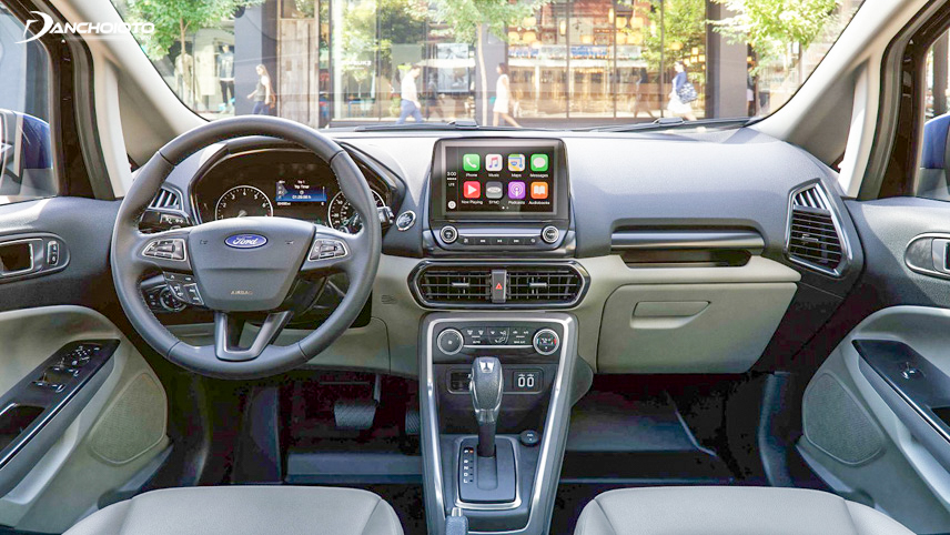 Nội thất EcoBoost 2018 được Ford trang bị đầy đủ nhất