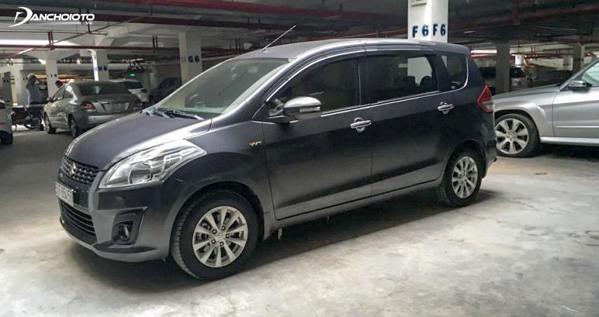 Suzuki Ertiga là mẫu xe được nhiều chủ xe tin tưởng khi chạy dịch vụ