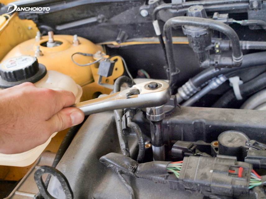 Changing spark plugs is something you can do quickly