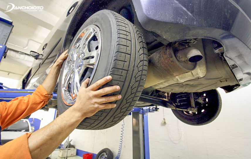 Tire rotation is very important during the 15,000km service