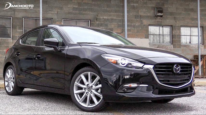 Thiết kế Mazda 3 2017 trẻ trung và đẹp mắt