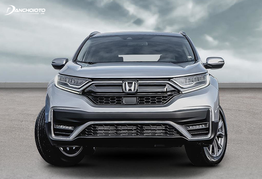 Đầu xe Honda CR-V 2020 mới trong dữ dằn hơn