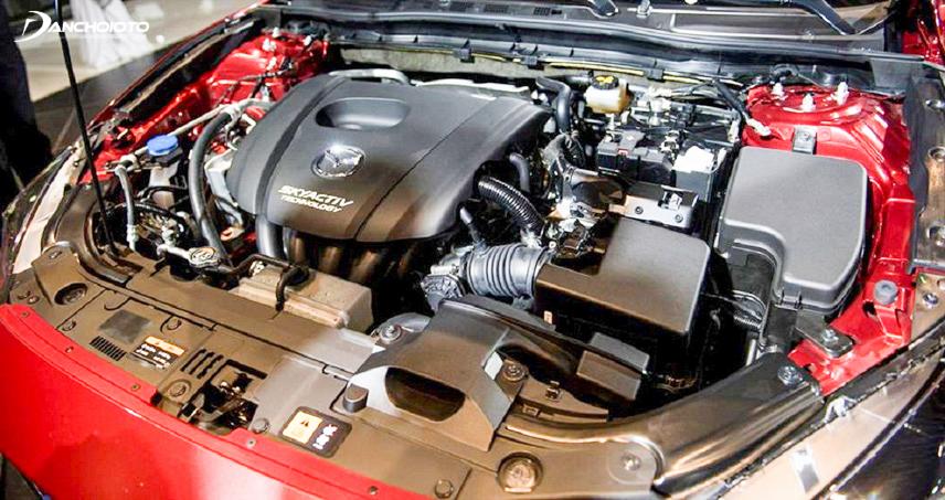 Động cơ Mazda 3 2017