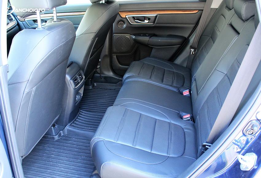 Hàng ghế thứ 2 Honda CRV rộng rãi