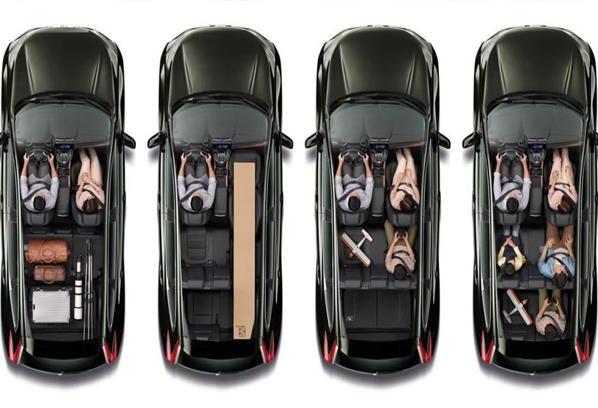 Hệ thống ghế Honda CR-V 2020 có khả năng gập/ngửa thông minh