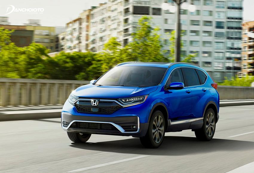 Honda CR-V 2020 mang thiết kế đĩnh đạc, điềm đạm
