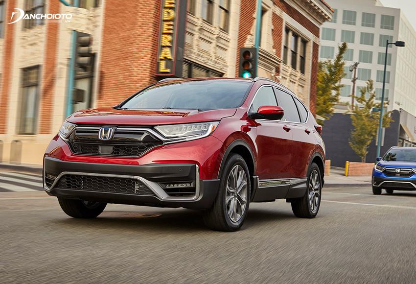 Honda CR-V 2020 thuộc thế hệ thứ 5 của mẫu xe này