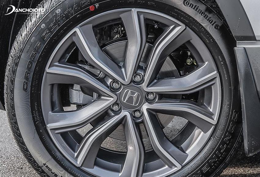 Honda CRV 2020 đều sử dụng lazang 18 inch