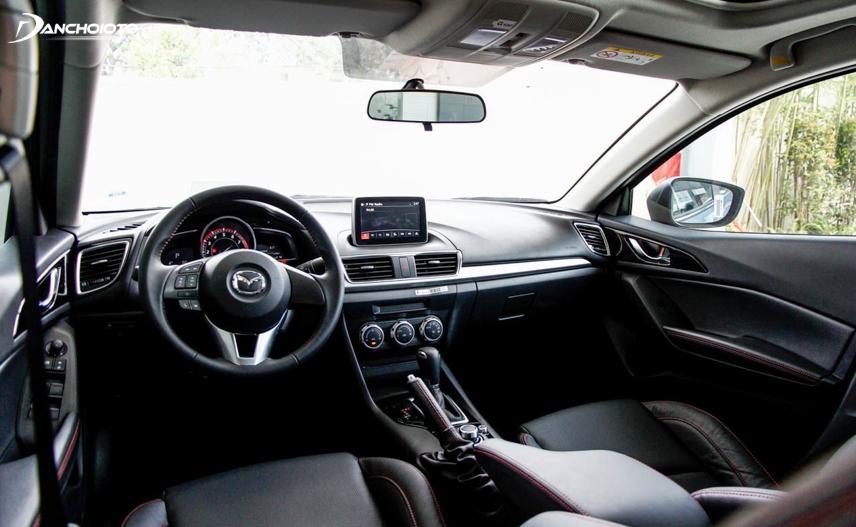 """Không gian xe Mazda 3 thế hệ thứ 3 mang cái """"chất"""" của những mẫu xe hạng sang"""