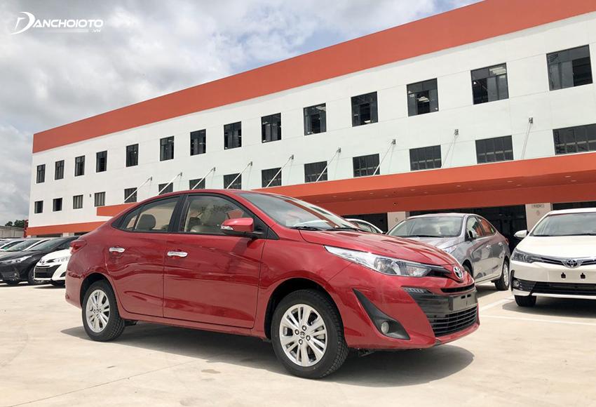 Mức tiêu hao nhiên liệu Toyota Vios được đánh giá tiết kiệm