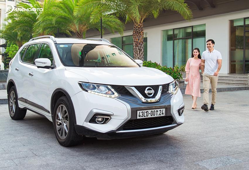 Nissan X-Trail được trang bị hệ dẫn động 4 bánh 4WD, khả năng offroad nhẹ tốt