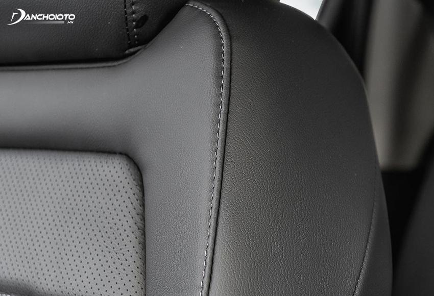 Tất cả các phiên bản Honda CRV đều được trang bị ghế bọc da