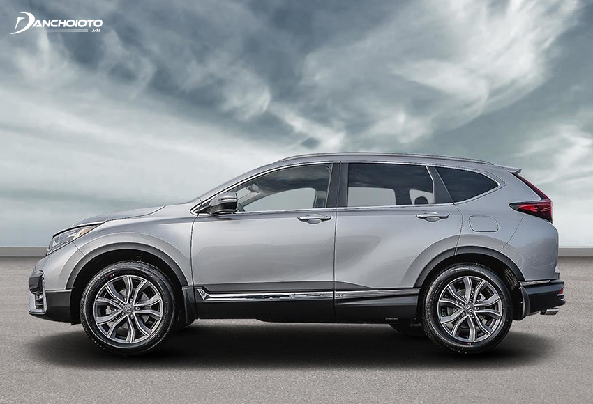 Thân xe Honda CR-V 2020 trông bề thế