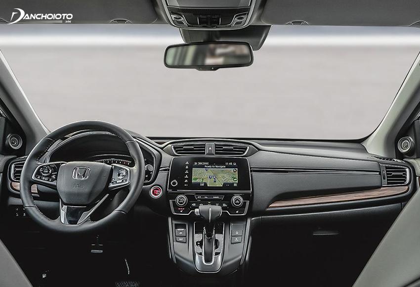 Thiết kế taplo Honda CR-V 2020 vừa gợi cảm giác truyền thống lại vừa mang nét hiện đại