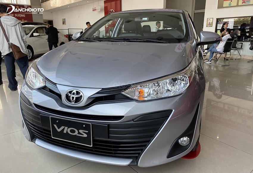 Toyota Vios 1.5E MT số sàn chủ yếu dành cho người mua xe chạy dịch vụ chuyên nghiệp