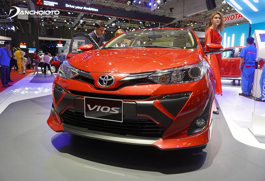 """Toyota Vios ấn tượng với thiết kế """"lột xác"""""""