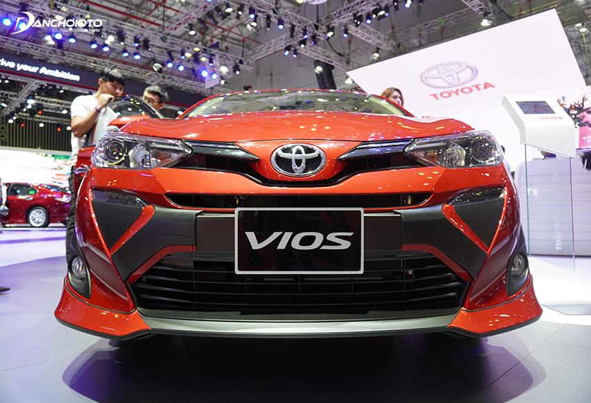 """Toyota Vios 2020 mang dấu ấn rõ nét của ngôn ngữ thiết kế """"Keen Look"""""""